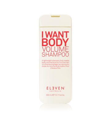 Champú voluminizador I WANT BODY VOLUME de Eleven Australia
