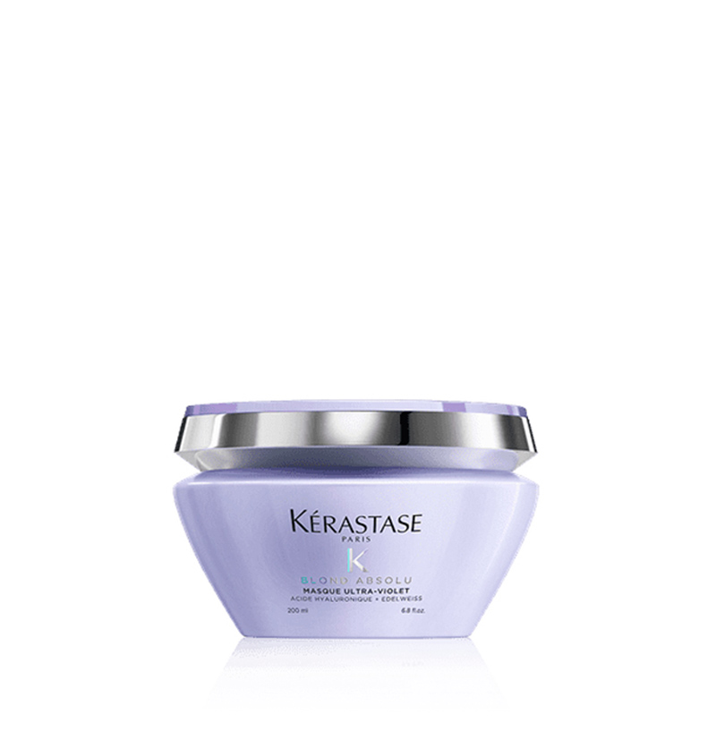 Mascarilla anti-amarillos MASQUE ULTRA-VIOLET BLOND ABSOLU de KÉRASTASE