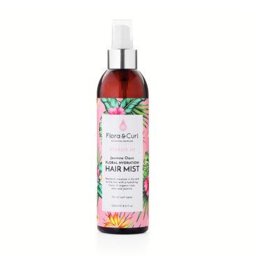 Spray refrescante rizos JASMINE OASIS HAIR MIST de FLORA & CURL en Beths