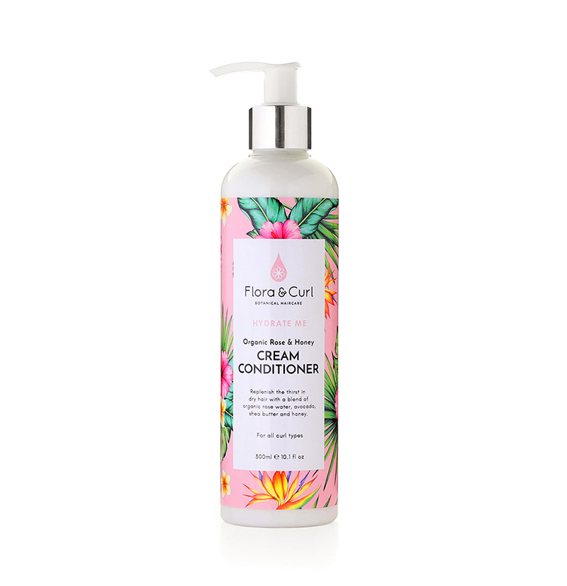 Acondicionador hidratante ORGANIC ROSE & HONEY CREAM CONDITIONER de FLORA & CURL en Beths