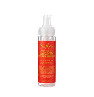 Espuma Weightless Styling Mousse Fruit Fusion Coconut Water de Shea Moisture - Beth´s Hair