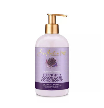 Acondicionador matizador Purple Rice Water Strength & Color Care de Shea Moisture - Beth´s Hair