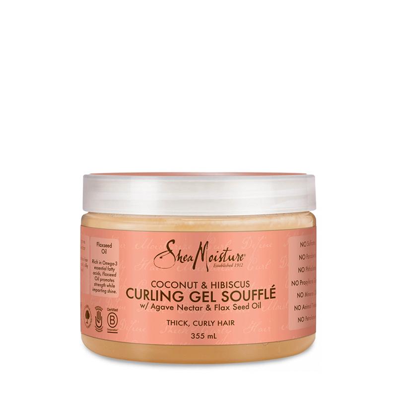 Curling Gel Soufflé Coconut & Hibiscus de Shea Moisture - Beth´s Hair
