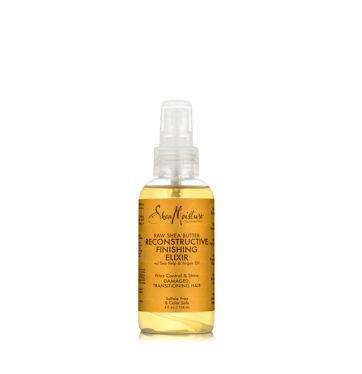 Sérum Reconstructive Finishing Elixir Raw Shea Butter de Shea Moisture - Beth´s Hair