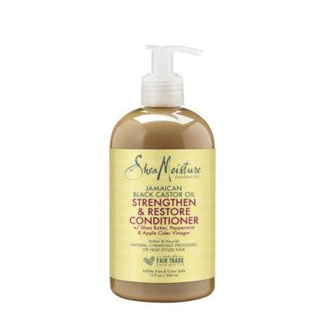 Acondicionador Strengthen & Restore Jamaican Black Castor Oil de Shea Moisture - Beth´s Hair