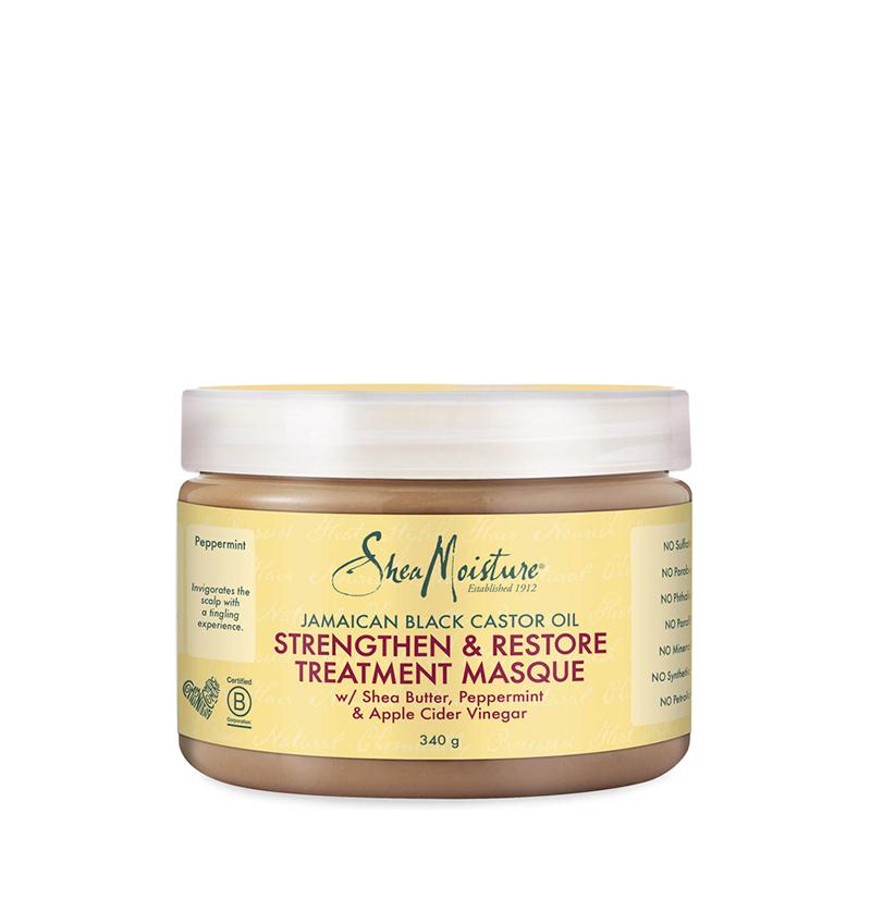 Mascarilla Strengthen & Restore Jamaican Black Castor Oil de Shea Moisture - Beth´s Hair