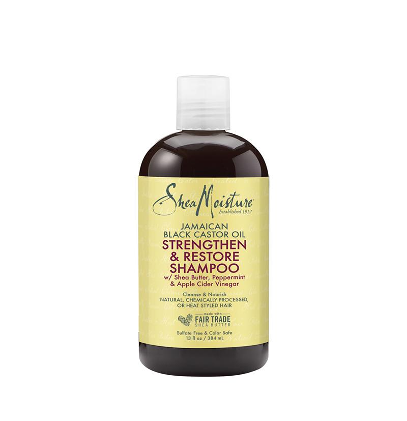Champú Strengthen & Restore Jamaican Black Castor Oil de Shea Moisture - Beth´s Hair
