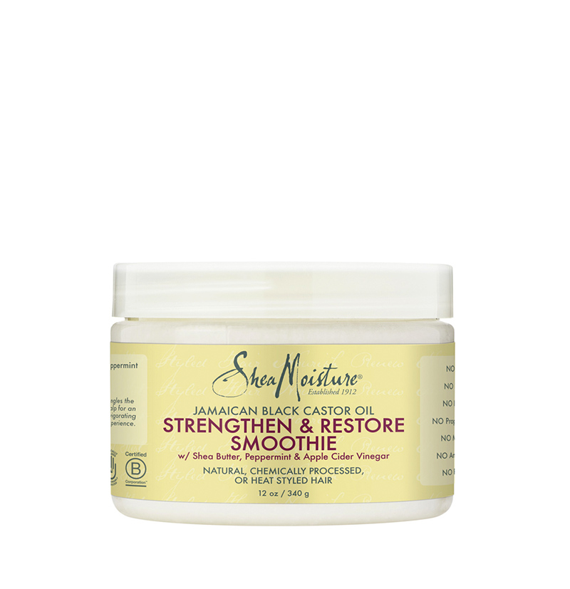 Crema Strengthen & Restore Smoothie Jamaican Black Castor Oil de Shea Moisture - Beth´s Hair