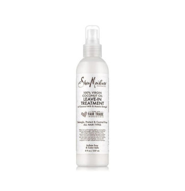 Acondicionador Sin Aclarado Leave-In Treatment 100% Virgin Coconut Oil de Shea Moisture - Beth´s Hair