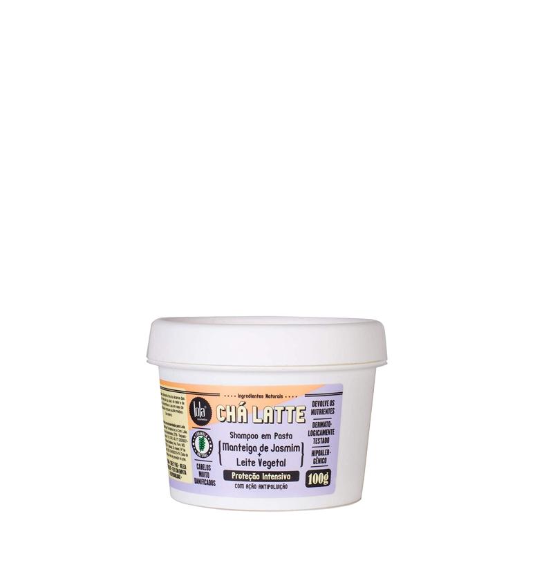 Champú sólido CHÁ LATTE con mantequilla de Jazmín de LOLA COSMETICS