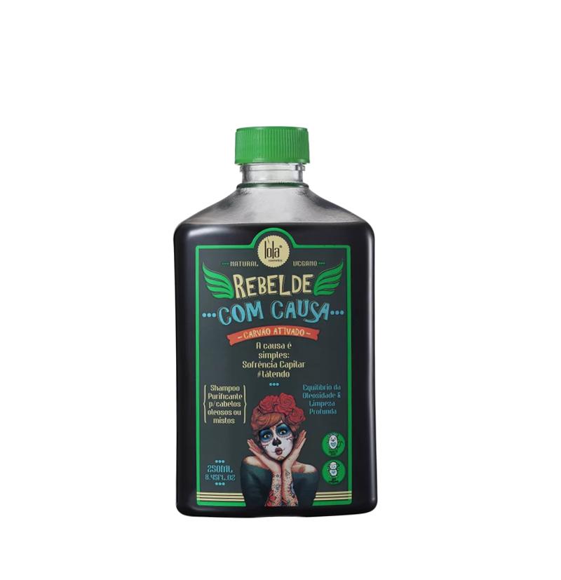 Champú purificante REBELDE COM CAUSA de LOLA COSMETICS