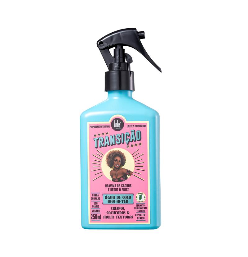 Spray agua de coco TRANSIÇÃO de LOLA COSMETICS