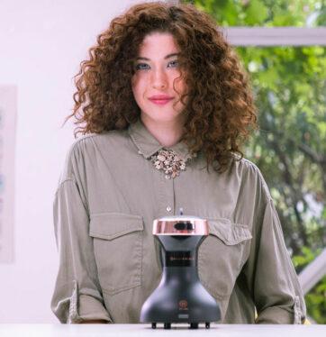 Bellissima secador difusor ceramico diffon df1 3000 rizos metodo curly