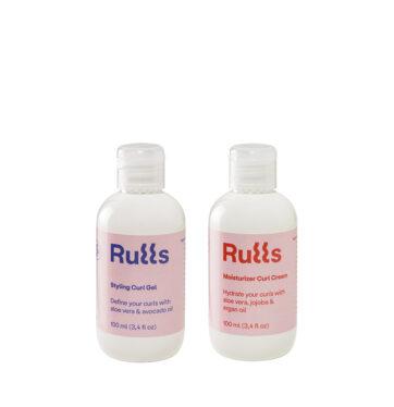 RULLS pack de gel y crema de peinado leave-in para rizos y método curly 100ml