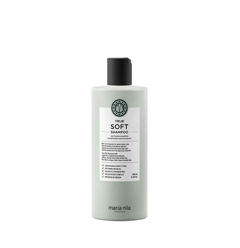Champú suavizante True Soft Shampoo de Maria Nila 350ml