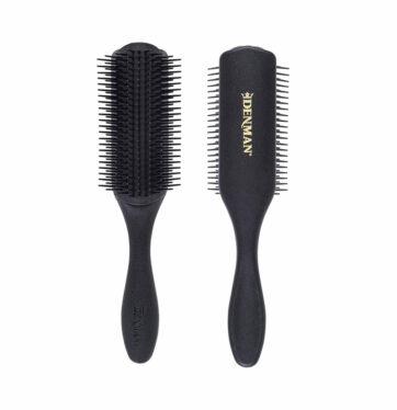 Cepillo definición rizos y método curly Denman D4 de 9 hileras Barber Limited Edition