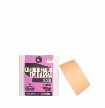 Acondicionador sólido para cabello rizado LINHA EM BARRA CACHOS de LOLA COSMETICS