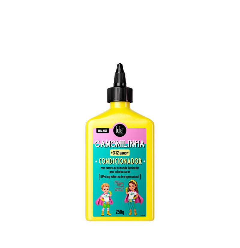 Acondicionador iluminador niños cabellos rubios o claros CAMOMILINHA de LOLA KIDS