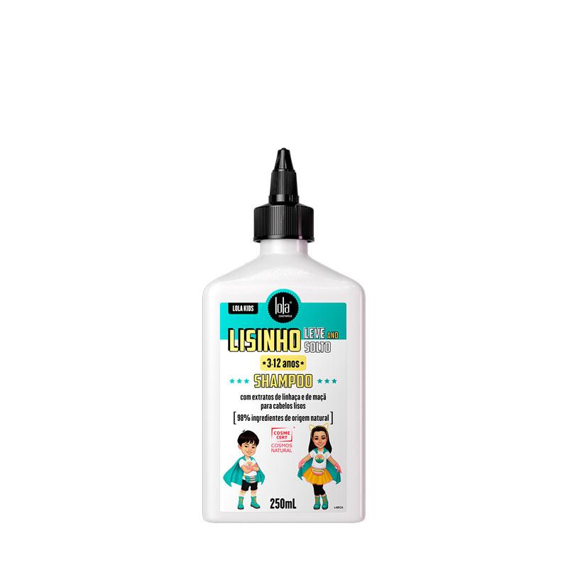 Champú hidratante niños cabello liso LISINHO, LEVE E SOLTO de LOLA KIDS