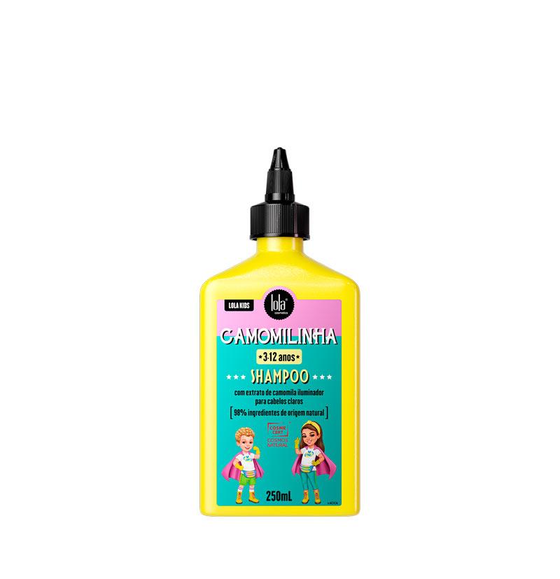 Champú iluminador niños cabellos rubios o claros CAMOMILINHA de LOLA KIDS