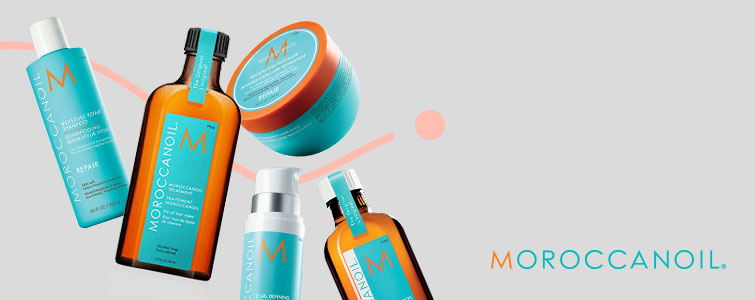 Descuentos y ofertas en productos de la marca Moroccanoil