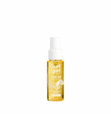 Aceite hidratante rizos CURL GIRL NORDIC Hair oil shane & care STEP 5