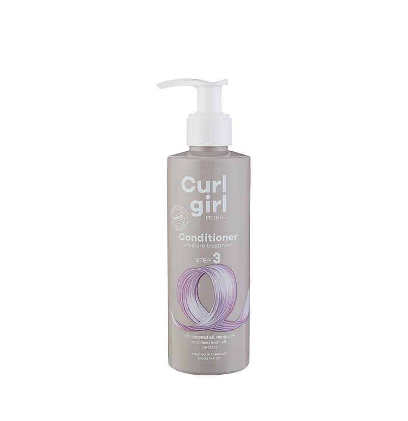 Acondicionador hidratante rizos CURL GIRL NORDIC Conditioner moisture treatment STEP 3