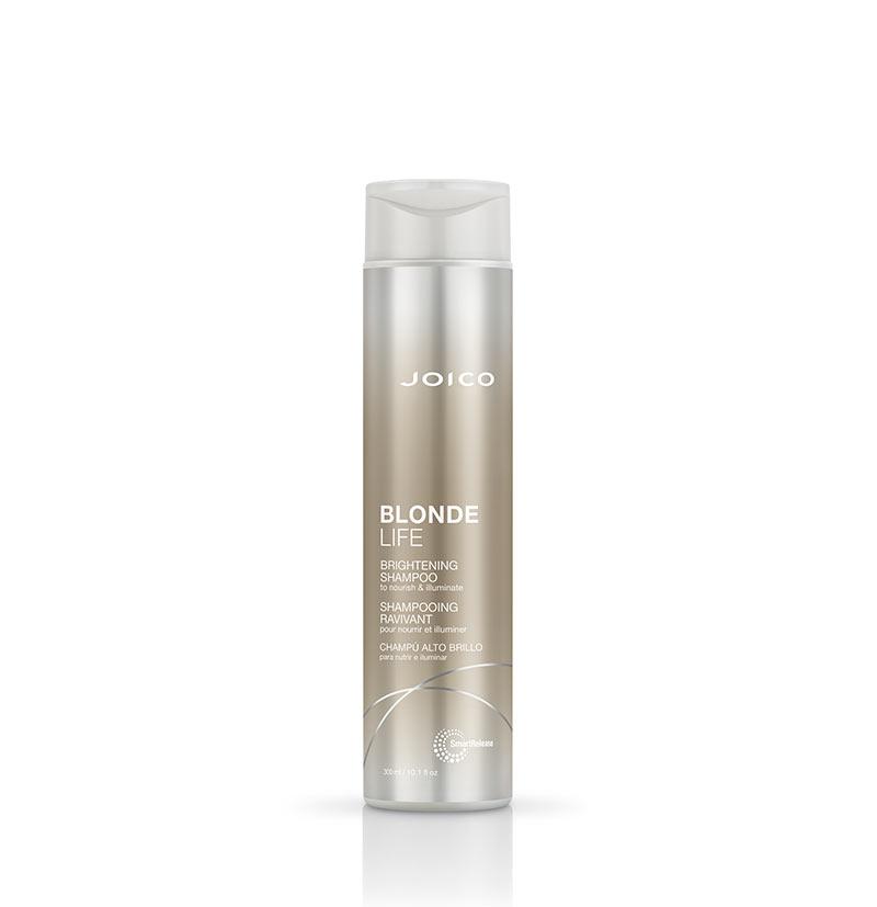 Champú rubios brillo intenso BLONDE LIFE brightening shampoo de JOICO 300ML