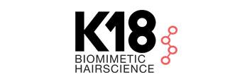 Logo Productos marca K18 en tienda ofertas peluquería beths hair