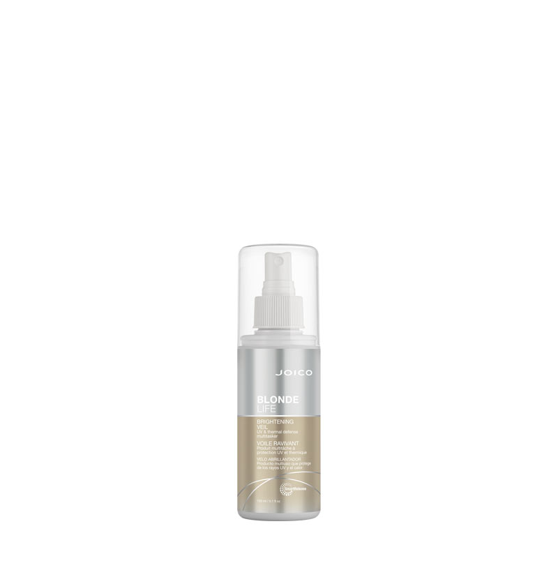 Spray Velo brillo protector térmico BLONDE LIFE BRIGHTENING VEIL de JOICO 150ml